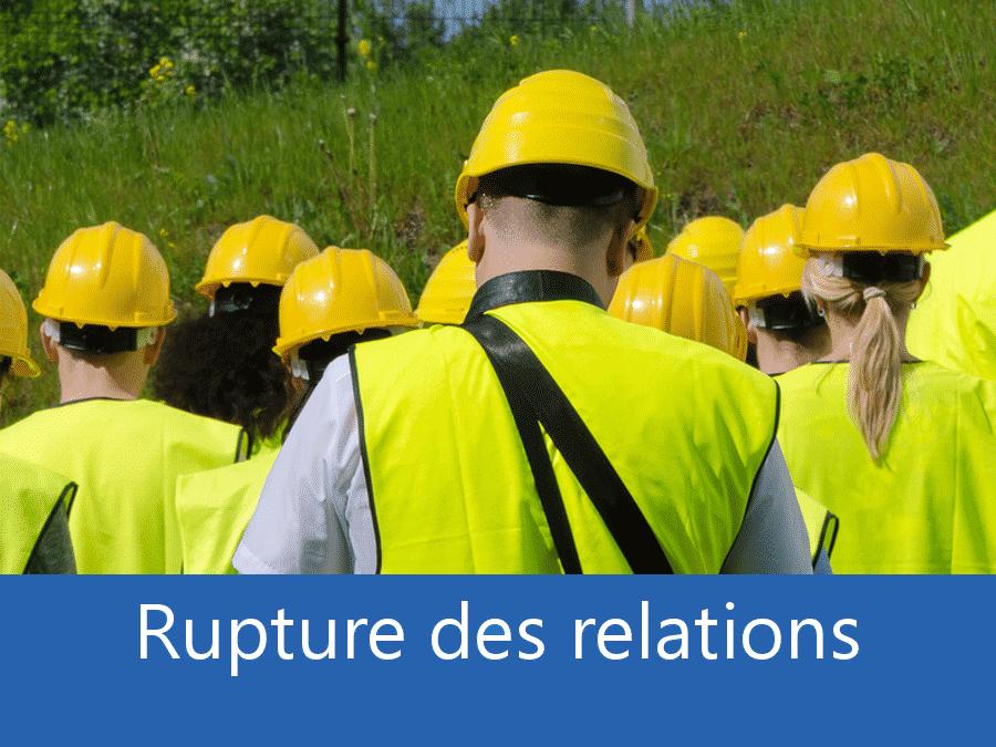 rupture des relation chantier 31, problème durant le chantier Toulouse, stress chantier Toulouse, problème durant le chantier Haute-Garonne,